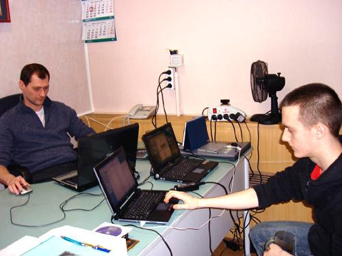 Дмитрий Шепелев и Алексей Зарубин