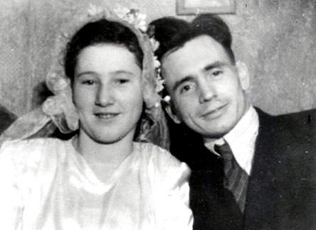 Венчание мамы и папы 19.11.1949